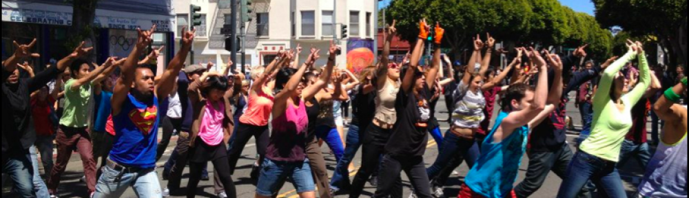 Bay Area Flash Mob